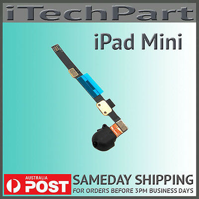 Headphone Audio Jack Flex Cable Replacement For iPad Mini 1 2 3 Black