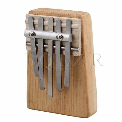 95x68x18mm 5 Keys Traditional Kalimba Mbira Thumb Piano with Alum Keys
