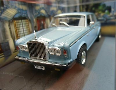 Rare 007 JAMES BOND Rolls-Royce Silver Shadow II - 1:43 BOXED CAR MODEL