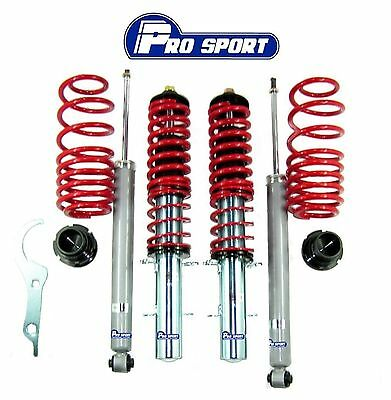 Vw Golf Mk4 Mk Iv (97-03) Coilovers - Adjustable Suspension Lowering Springs Kit