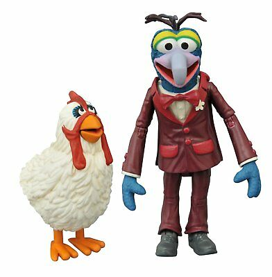 Muppets Show Select Actionfigur: Gonzo & Camilla