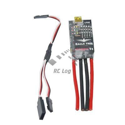 Eagle Tree Systems V4 RC MicroPower e-Logger OnBoard Data Recorder (100A)