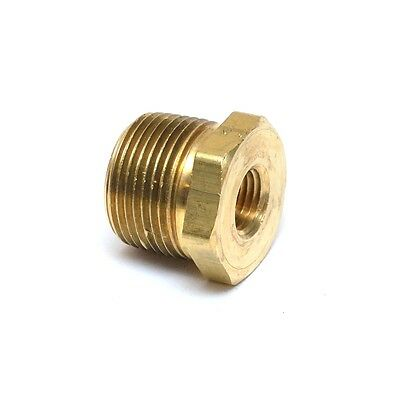 "1/4"" NPT(F) to 3/4"" NPT (M) Brass Reducer Bushing adapter gauge"