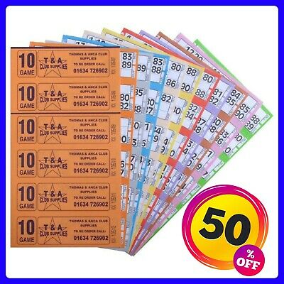 Bingo Tickets 3000 10 Page 6 To View Bingo Books