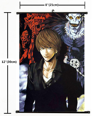 Japanese Anime Death Note Wall Scroll Poster DIY Craft Home Decoration Cosplay