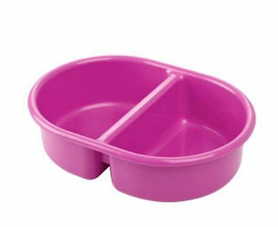 The Neat Nursery Oval Top N Tail Baby Wash Bowl - Pink
