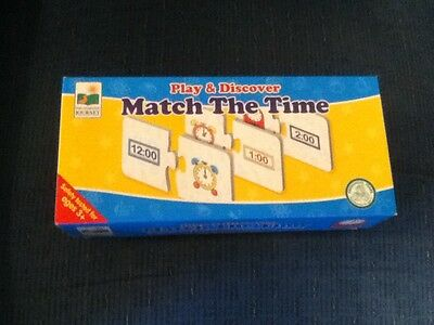 The Learning Journey Match The Time Puzzle Cards