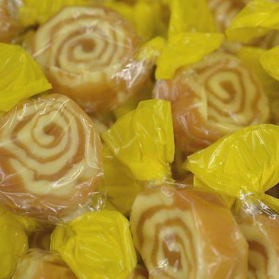 Banana Toffee Whirls Wholesale Pick n Mix RETRO SWEETS & CANDY Wedding Sweet