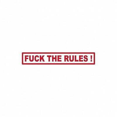 044 Hells Angels Support 81 sticker  F*CK THE RULES