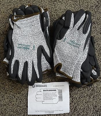 6 PAIR Gloves ANSI CUT RESISTANT CUT LEVEL 4 Magid size 8