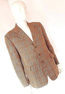 Vintage Lambourne by Phillips & Piper Ltd Tweed Hacking Jacket Blazer 44 Large