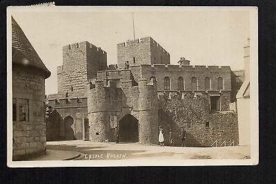 Castle Rushen - real photographic postcard