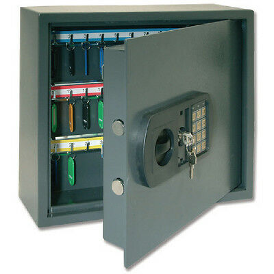 Helix High Security Key Safe 30 Key Grey CP9030