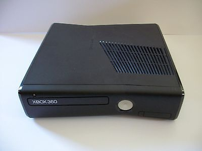 Microsoft Xbox 360 S Version Matte Black Console Replacement Console Only (NTSC)