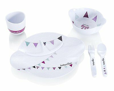 Babymoov Party Lunch Gift Set Pink - New