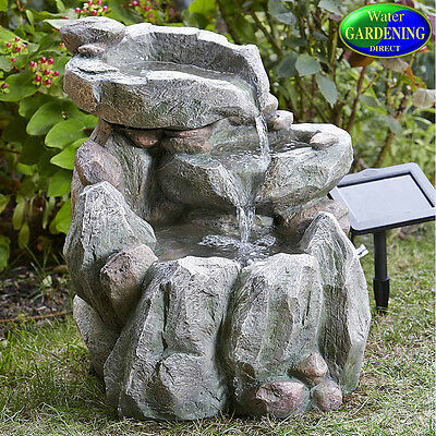 Rock Fall Solar Water Feature- Smart Garden Products