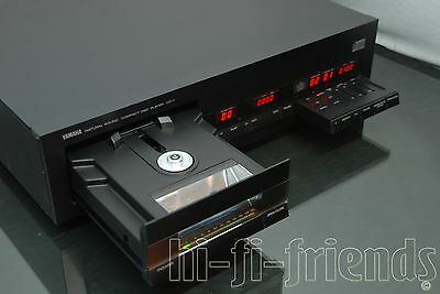 ►Yamaha Cd1◄ Cd 1 Lettore Vintage Cd-Player Top 1982 Yamaha's First Player !!