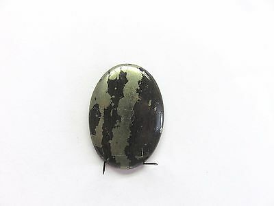 Chalcopyrit Cabochon 36,8x26,4 mm 47 ct. U18054
