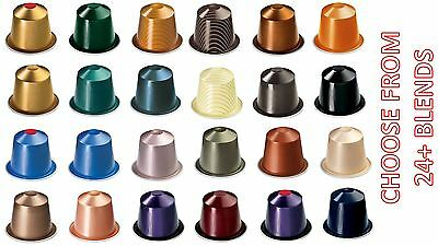 Genuine Original Nespresso Capsules Coffee Pods - Choose From 24 Blends Flavour