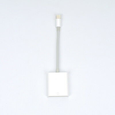 Camera SD Card Reader Adapter Cable for iPhone 7 Plus 6S Apple iPad Pro