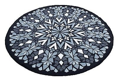 Charlie Paige Round Beach Towel Geometric Collection