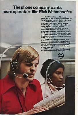 Vintage Magazine Ad - 1972 - AT&T / Bell system - (#4)