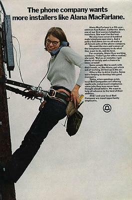 Vintage Magazine Ad - 1972 - AT&T / Bell system - (#5)