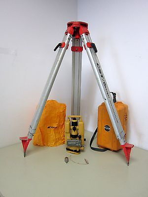 Topcon DT-104 Digital Theodolite with CST Tripod and Heavy Duty Case