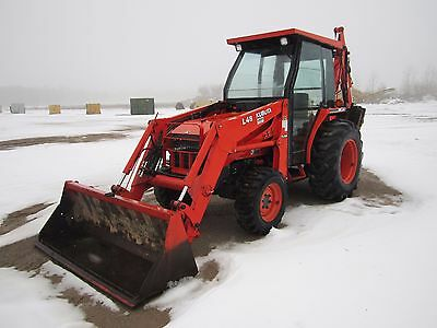 2002 Kubota L48 Backhoe/Loader/Tractor with only 950 hours