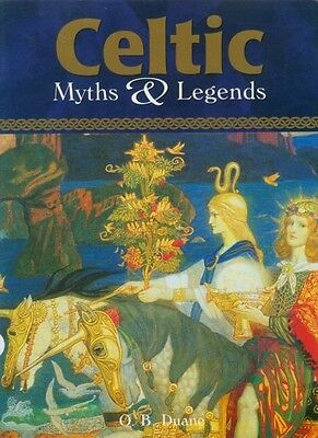 RARE XL Celtic Myths & Legends Warriors Wizards Fairies Art Ireland Britain Rome