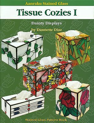 Tissue Cozies Stained Glass Pattern Book, Tissue Boxes