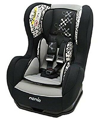 Nania Cosmo SP 0-4 YR Rear & Forward Facing Recliner Car Seat Corail Black