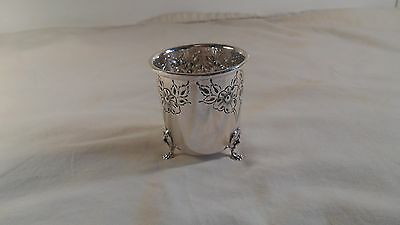 Beautiful Sterling Silver Wedding Cup or Loving Cup