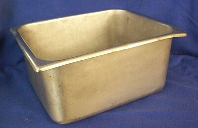 "Restaurant Equipment HEAVY DUTY STAINLESS STEEL 1/2 SIZE PAN 6"" DEEP"