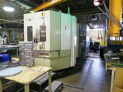 Mori Seiki Sh-630 4-Axis Cnc Horizontal Machining Center