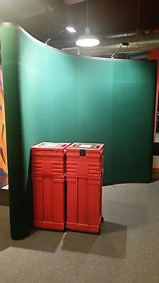 10ft. Pop Up Trade Show Display - Green Panels