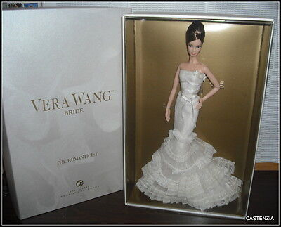 Nrfb Barbie Mattel 2008 Gold Label Vera Wang Bride The Romanticist Gold Label