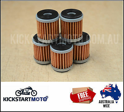 Oil Filters for Yamaha WR450F YZ450F 2014 2015 2016 WRF YZF 450