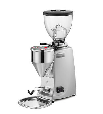 Mazzer Mini Electronic Grinder Type A - Silver  Home  Office   Cafe   Restaurant