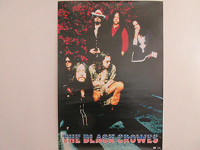 Black Crowes Japan Promo Poster Rich Robinson