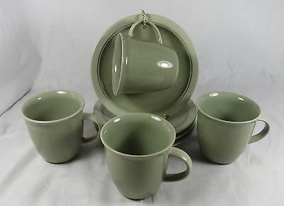 4 Mesa Verde (CF402) Cups and Saucers by Mikasa