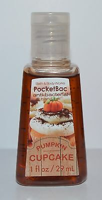 Bath & Body Works Pumpkin Cupcake Pocketbac Anti Bacterial Hand Gel Sanitizer