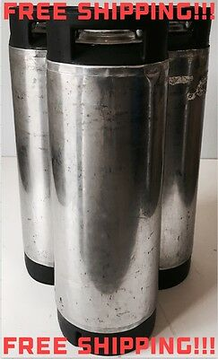 Corny Keg Ball Lock Tank 5 Gallon Homebrew Beer Kombucha Coffee (B Grade)