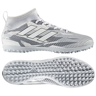 on sale 55701 5ea1e ADIDAS ACE 17.3 Primemesh TF Turf 2017 Soccer Cleats Shoes Camo Gray / White