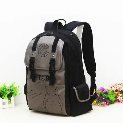 New Anime My neighbor totoro Canvas Backpack Cosplay Rucksack Shoulder Bag