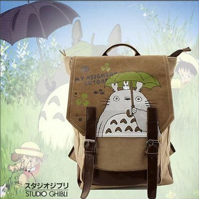 Japanese My neighbor totoro Backpack School Travel Bag Cosplay Shoulder Bag