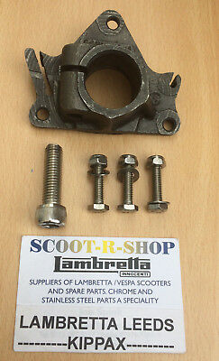 Lambretta Gp -  Series 3 Headset Clamp & Stainless Steel Bolts - Brand New