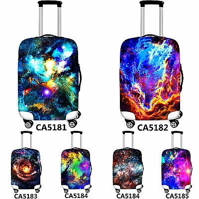 Galaxy Elastic Luggage Protective Cover Elastic Suitcase Cover Bags Anti theft