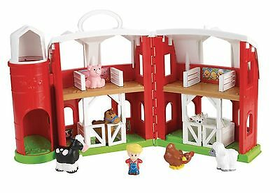 Fisher-Price-Little People Animal Friends Farm Toy Retail Packaging