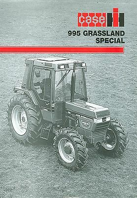 1993 Case Ih 995 Grassland Special Promotional Sheet